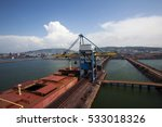 Dry Bulk Cargo Ship.