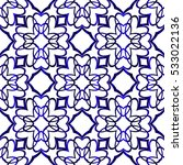 abstract raster copy seamless... | Shutterstock . vector #533022136