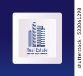 set of vector icons real estate | Shutterstock .eps vector #533061298
