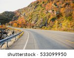 the road along the sea coast.... | Shutterstock . vector #533099950