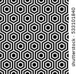vector seamless pattern. modern ... | Shutterstock .eps vector #533101840