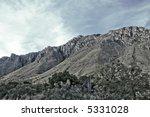 Massive Limestone Formation ...