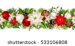 vector christmas horizontal... | Shutterstock .eps vector #533106808