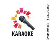 karaoke logo  vector | Shutterstock .eps vector #533108350