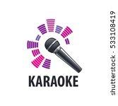 karaoke logo  vector | Shutterstock .eps vector #533108419