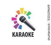karaoke logo vector | Shutterstock .eps vector #533109649