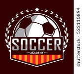 soccer logo  america logo ... | Shutterstock .eps vector #533110894