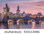 Prague   Charles Bridge Sunset