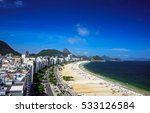 Aerial View Of The Copacabana...