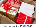 christmas gifts. | Shutterstock . vector #533130040