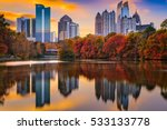 Atlanta  Georgia  Usa Piedmont...