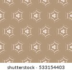 ornamental seamless pattern.... | Shutterstock .eps vector #533154403