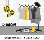 vector illustration with coat... | Shutterstock .eps vector #533156650
