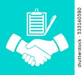 checklist icon | Shutterstock .eps vector #533160580
