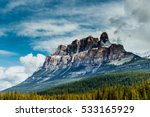 The Canadian Rockies Mountains...