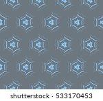 vector seamless pattern. modern ... | Shutterstock .eps vector #533170453