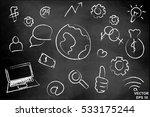 social networks. the... | Shutterstock .eps vector #533175244