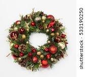 Fresh Handmade Christmas Wreath ...