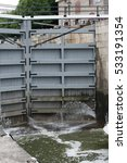 Small photo of Lock Gate on the Rideau Canal in Ottawa, Canada