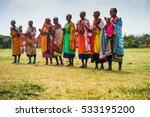 masai mara  kenya   circa... | Shutterstock . vector #533195200