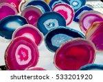 Multi Colored Slices Of Semi...