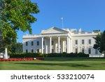 the white house   washington dc ...   Shutterstock . vector #533210074