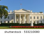 the white house   washington dc ... | Shutterstock . vector #533210080