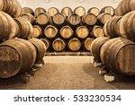 Barrels Wine Cellar Porto Portugal - Fine Art prints