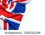 union jack flag | Shutterstock . vector #533232169