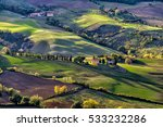 Typical Hills Of Tuscany  As...