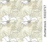 summer seamless wallpaper | Shutterstock .eps vector #53323717