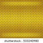 gold stainless steel texture... | Shutterstock . vector #533240980
