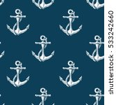 seamless vector pattern with... | Shutterstock .eps vector #533242660