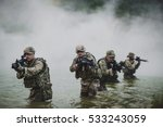 british special forces soldiers ... | Shutterstock . vector #533243059