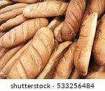 bread loaves. loaf of bread....   Shutterstock . vector #533256484