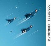 business concept vector... | Shutterstock .eps vector #533267200
