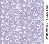 vector seamless pattern.... | Shutterstock .eps vector #533271208
