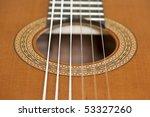 classical guitar | Shutterstock . vector #53327260