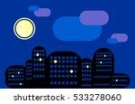 city landscape. night city...