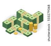 capital illustration. much... | Shutterstock .eps vector #533279368