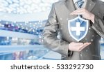 health protection and insurance.... | Shutterstock . vector #533292730