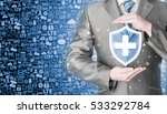 health protection and insurance.... | Shutterstock . vector #533292784