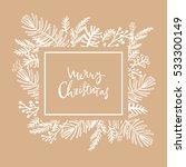 Hand Drawn Christmas  Greeting...