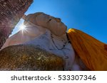 the old temple  reclining... | Shutterstock . vector #533307346