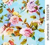 seamless background pattern of...   Shutterstock .eps vector #533310718