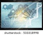 media medicine background image ... | Shutterstock . vector #533318998