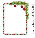 Blank Christmas Border  Candy...