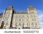 ottawa  canada. november 14th... | Shutterstock . vector #533333773