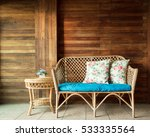 easy chair in the living room. | Shutterstock . vector #533335564