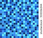 vector bright mosaic. | Shutterstock .eps vector #533336344